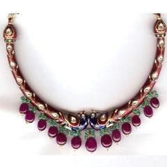 Uncut Jewellery with kundan polki jewellery exporters.
