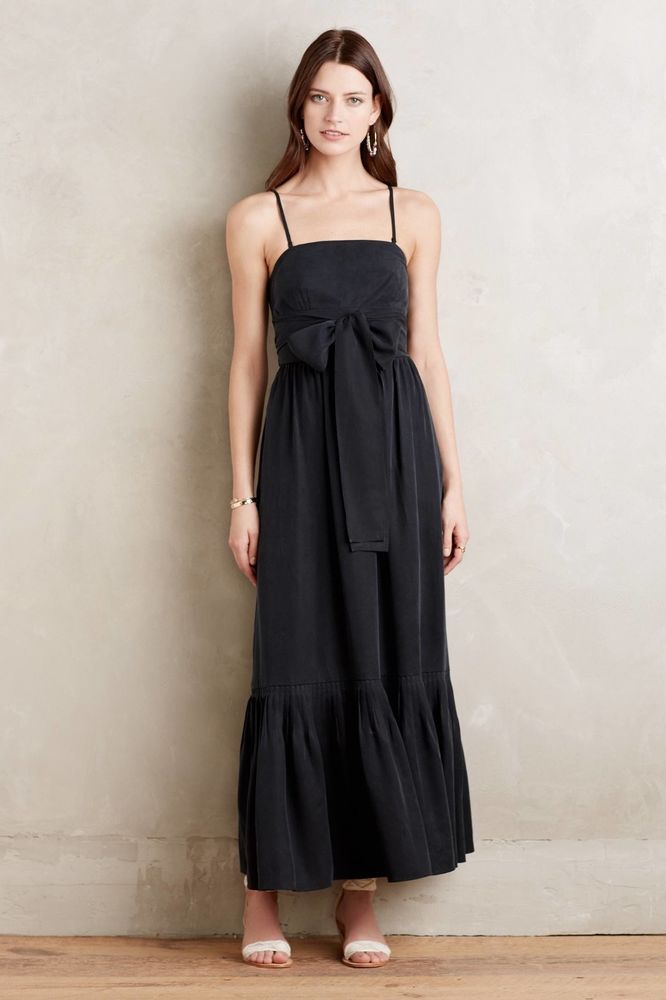 Anthropologie Moulinette Soeurs Tenney Maxi Dress S Small Brand New
