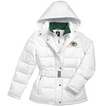 Green Bay Packers Women's Snow Cap Parka at the Packers Pro Shop
