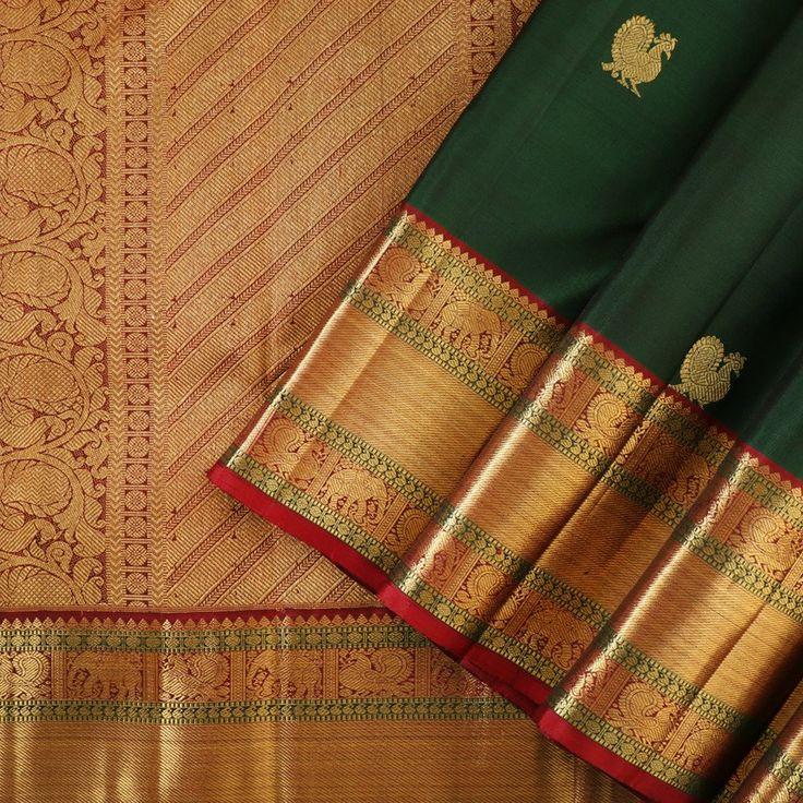 Kanakavalli Kanjivaram Silk Sari 050-01-24522 - Cover View