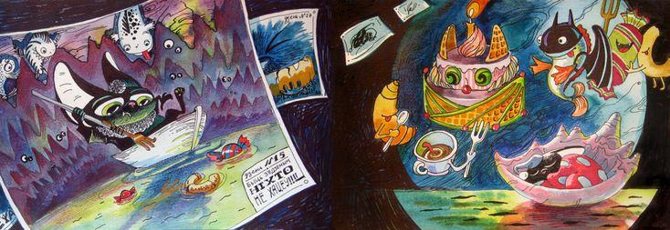 {иллюстрация, дизайн и другие ...котики} - Проект «Бесконечная книга»: 9я неделя