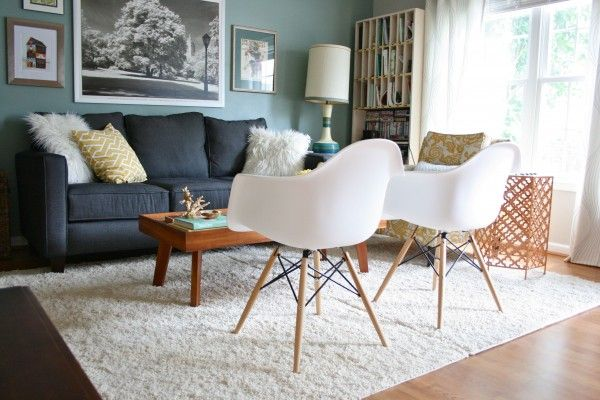 Use 2 5x7 rugs to create a 10x14 rug for under $200