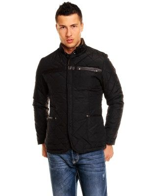 Redbridge chaqueta guateada   black