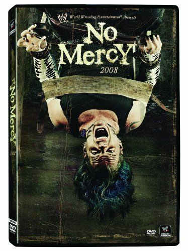 WWE: No Mercy 2008:   The superstars of Raw, SmackDown, and ECW show No Mercy to their rivals in battles for the WWE Championship, World Heavyweight Championship, ECW World Championship, and more.