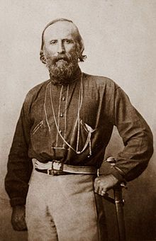 """Giuseppe Garibaldi (July 4, 1807 – June 2, 1882) was an Italian general and politician. He is considered, with Camillo Cavour, Victor Emmanuel II and Giuseppe Mazzini, as one of Italy's """"fathers of the fatherland""""."""