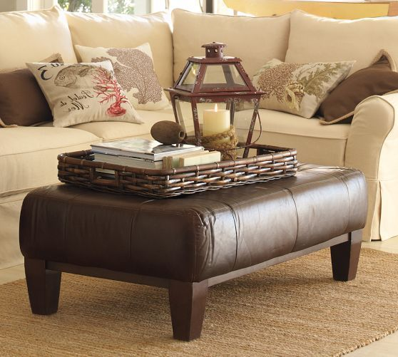 Brown Leather Coffee Table Leathercoffeetables Living Room Design Coffeetabledesign Leather Design Decoratingideas Leather