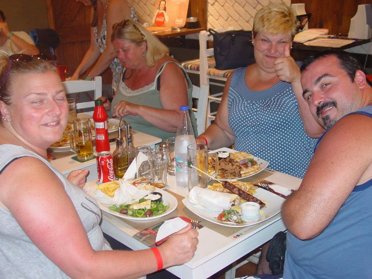 Lunch at the El Greco Steakhouse in Lindos