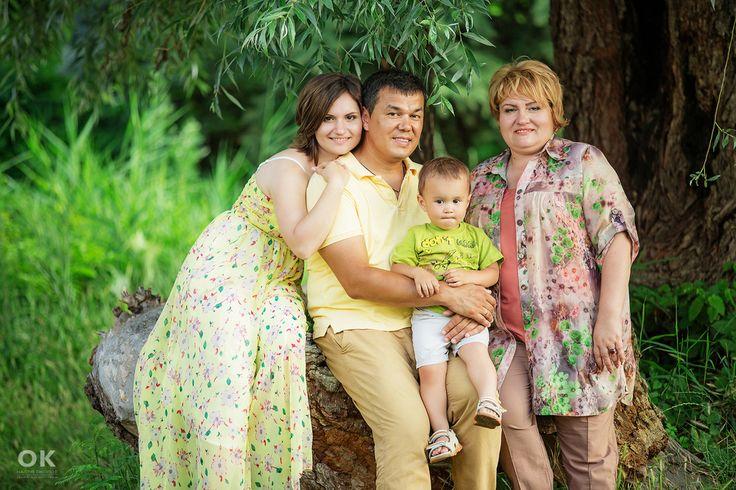 Семейная фотосессия в Краснодаре