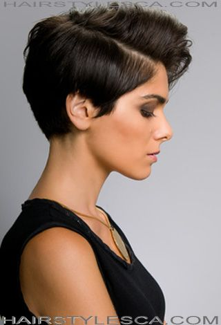 With short hairstyles, there are endless possibilities of hair ideas