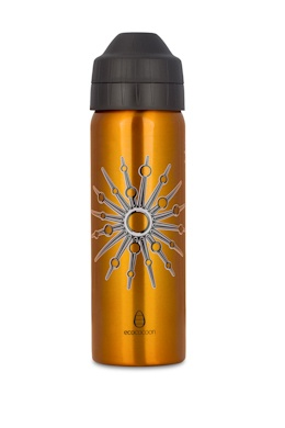 "ecococoon ""Starburst"" insulated stainless steel bottle in size large. littlemodern.com"