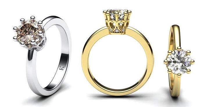 Aby těch zásnubních prstenů nebylo málo, podělím se s vámi o další. Prsten vám na přáni vyhotovím z bílého, žlutého nebo červeného zlata...