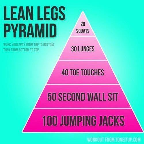 ShowMe Nan: Lean Legs Pyramid