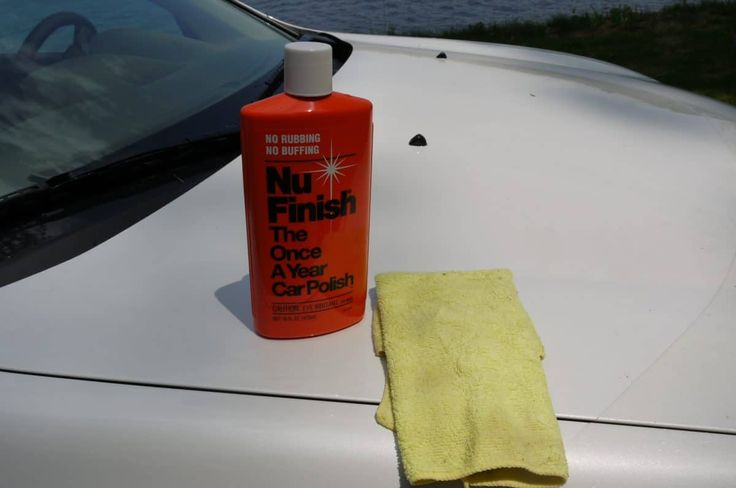 Car sealant re-applied after tree sap removal.