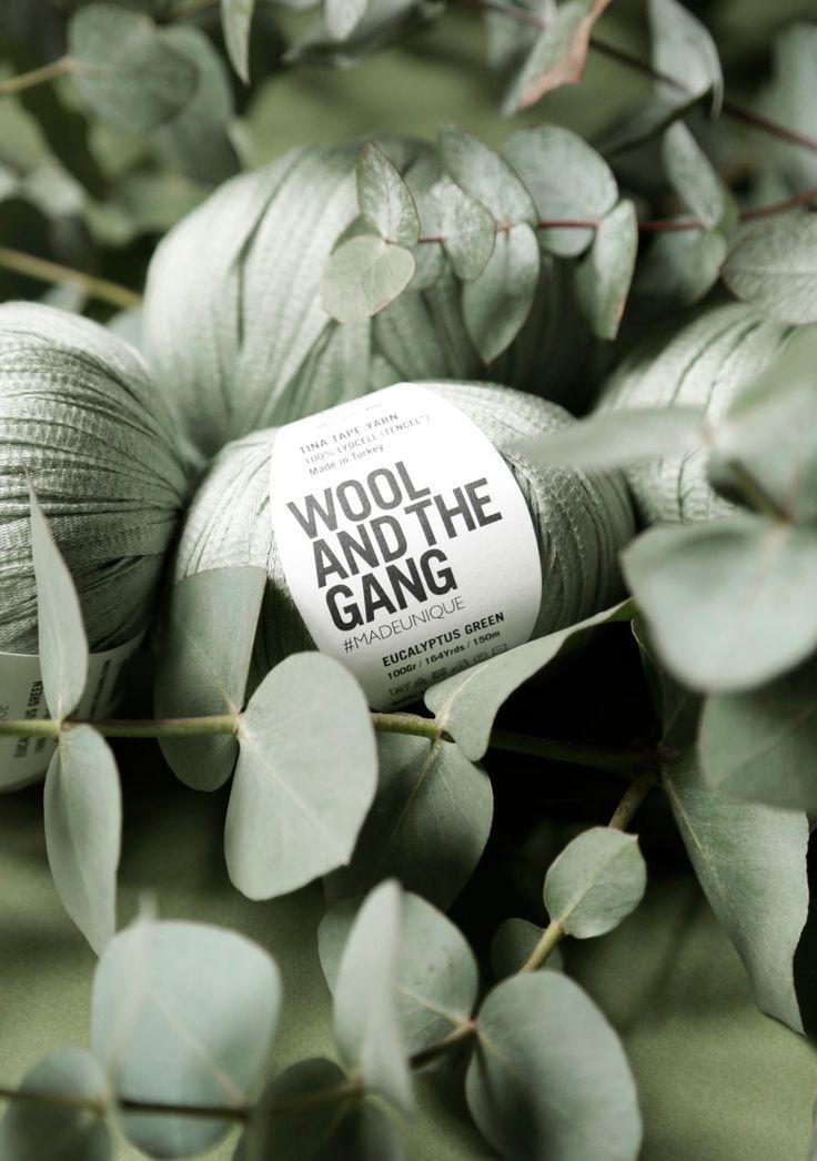 Eucalyptus tape yarn