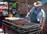Rib cooking at Best in the West Nugget Rib Cook-Off in Sparks, Nevada.