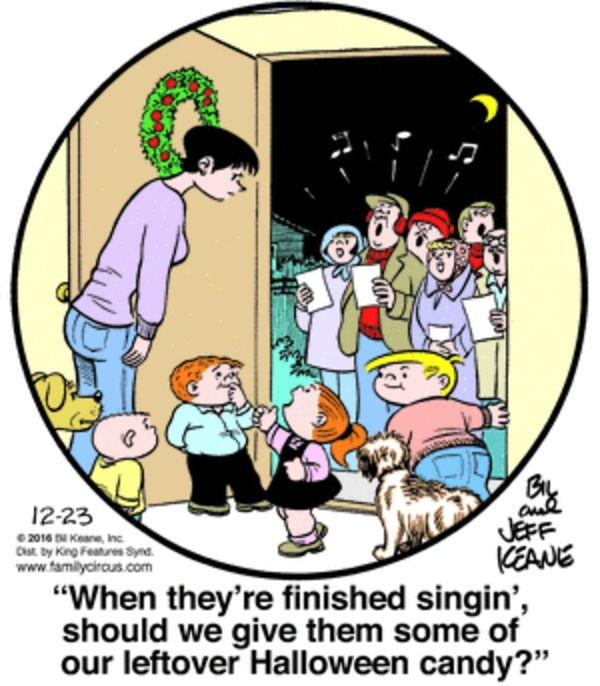 Family Circus for 12/23/2016