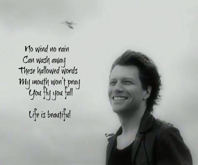 1000+ images about Lyrics & Quotes on Pinterest  Bon jovi song, Rascal f...