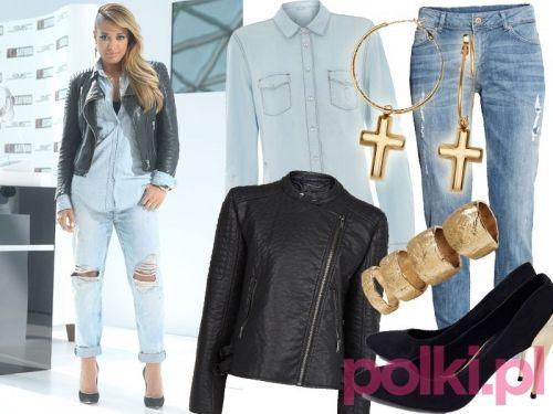 Patrycja Kazadi, styl rockowy #fashion #polkipl #bebeauty #moda #style #trendy #colour