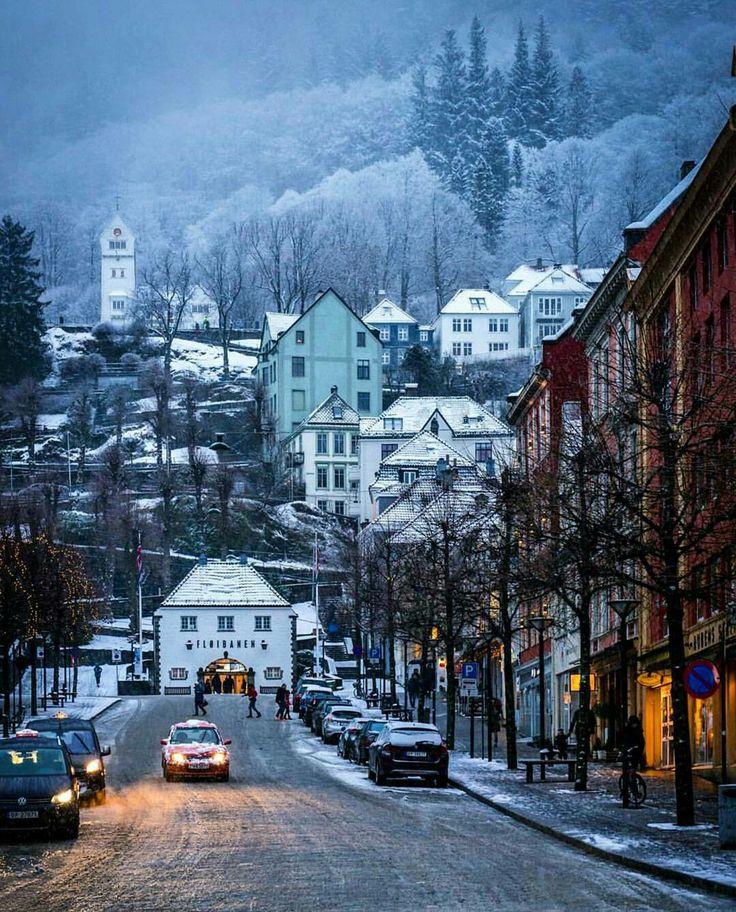 #FlyingwiththeRichandFamous #Fromtheflightattendantwhoflewwiththem Bergen, Norway