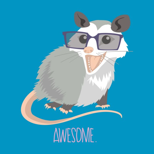 Awesome Possum-Canvas painting for the classroom, maybe with a Cool Beans one as well :)