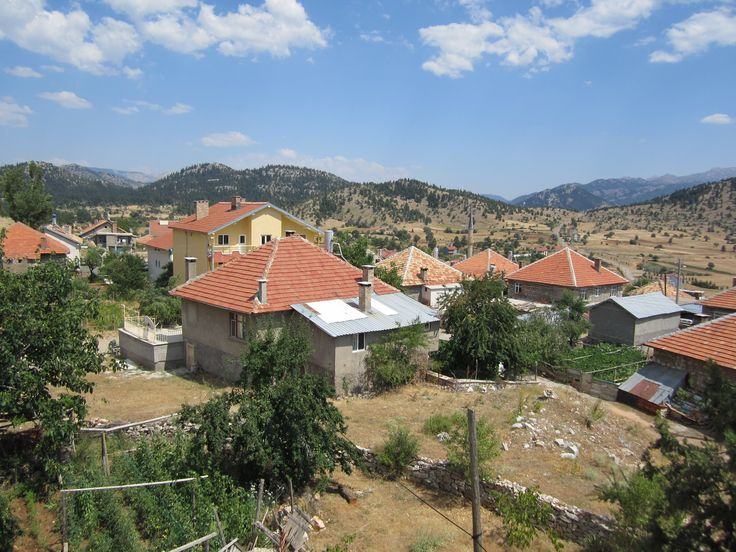 Göynem'den güzel bir manzara...