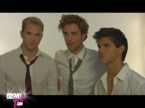 The Guys of Twilight - Behind the Scenes COSMO GIRL SHOOT 2008