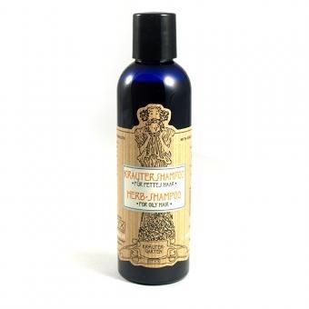 Kräuter-Shampoo für fettiges Haar