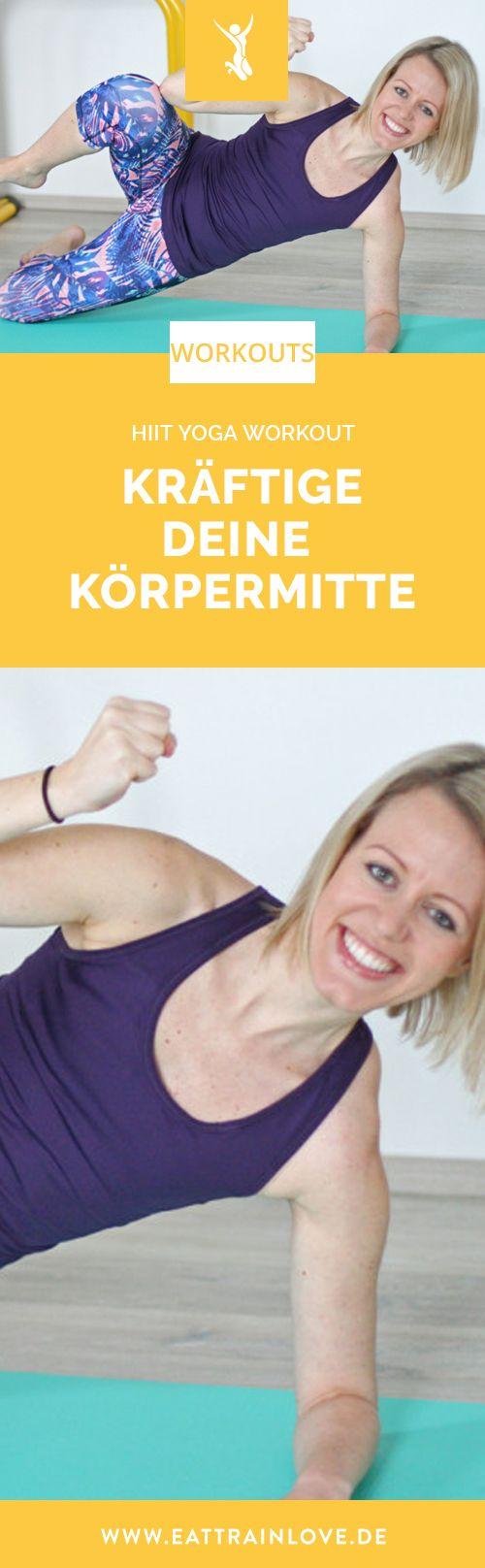 HIIT YOGA Workout 14 – Kräftigung für die Core-Muskulatur