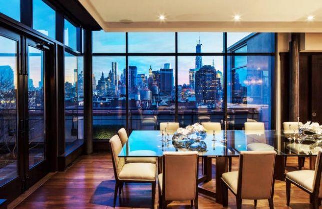 Case celebre: Penthouse-ul lui Jon Bon Jovi din New York- Inspiratie in amenajarea casei - www.povesteacasei.ro