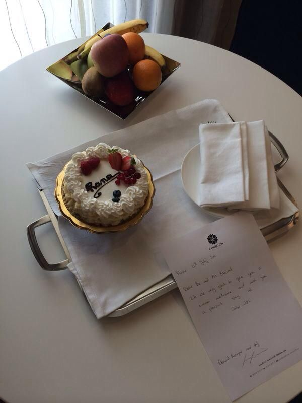 We love to spoil our special guests :)  www.corso281.com