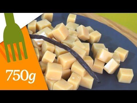 Recette de Caramels mous à la vanille - 750 Grammes - YouTube