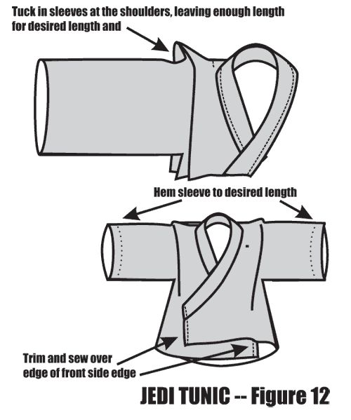 Using an A-line in a Jedi Tunic - Figure 12