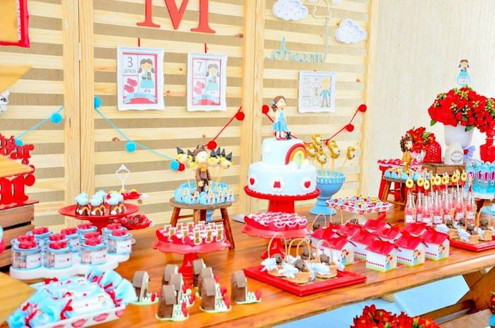 Wizard of Oz Birthday Party on Kara's Party Ideas | KarasPartyIdeas.com (10)