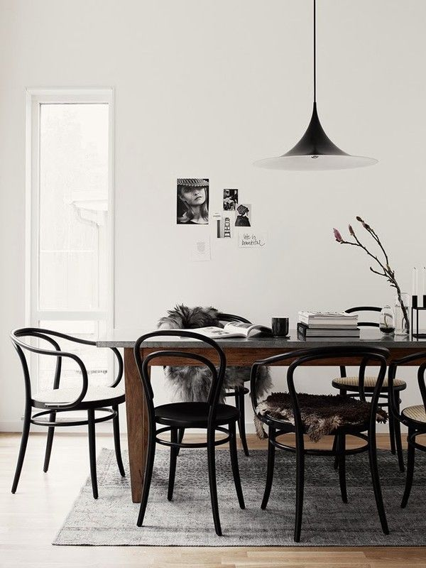 Pella Hedeby's Thonet styling - emmas designblogg
