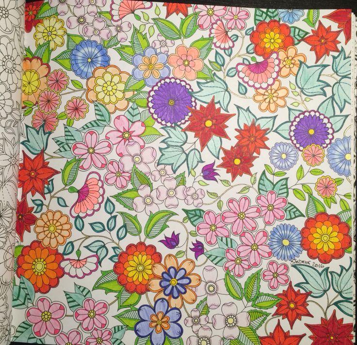 Flowers From Johanna Basfords 'secret garden'