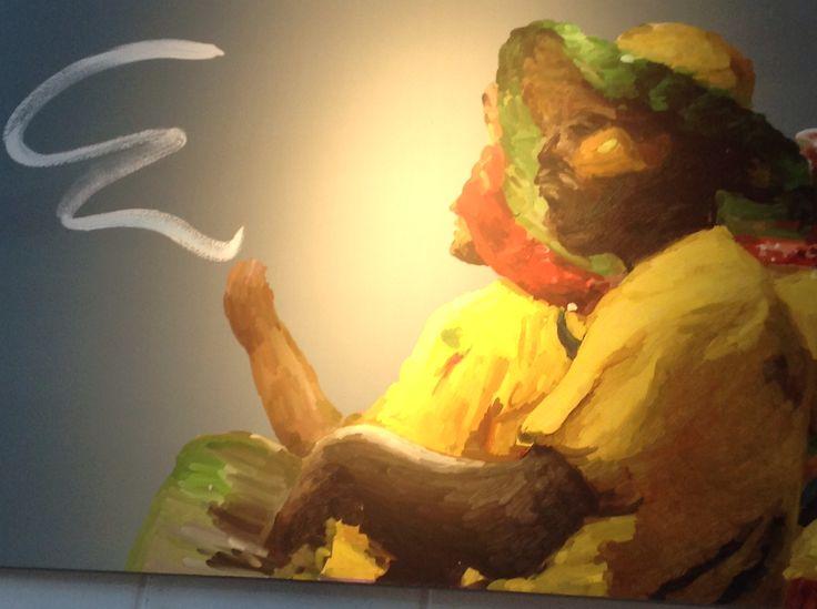 Pintura Digital - Luis López Jubin y su obra Garabatos de Carnaval en Miranda Punta Ballena