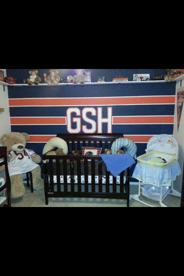 Babyu0027s Chicago Bears Room