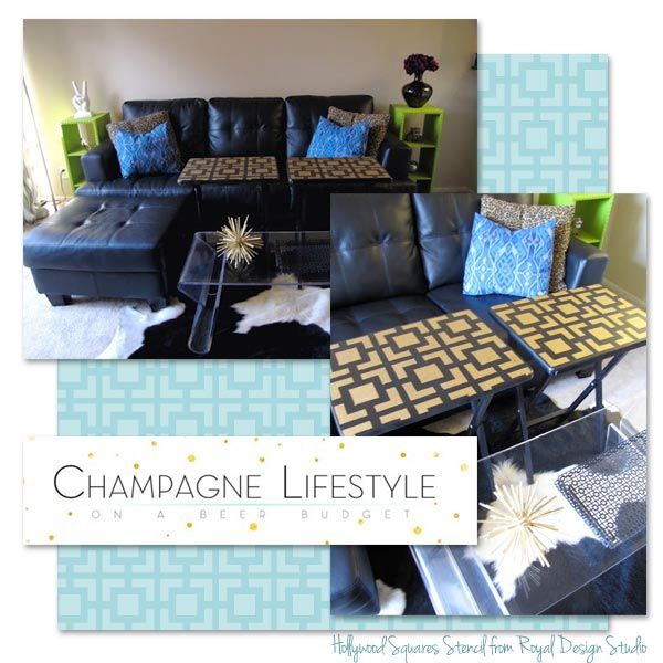 94 mejores im genes sobre furniture painting stencils en - Royal design muebles ...