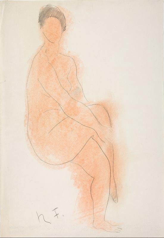 """Falk, R. """"Nude. Paris"""". 1930s"""