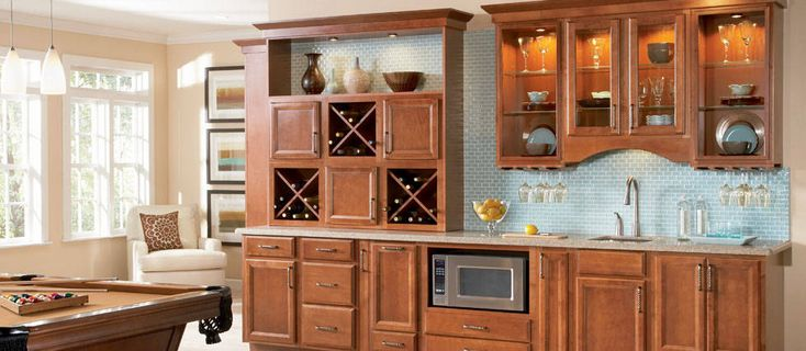 ashland collection from american woodmark | kitchen cabinet ideas