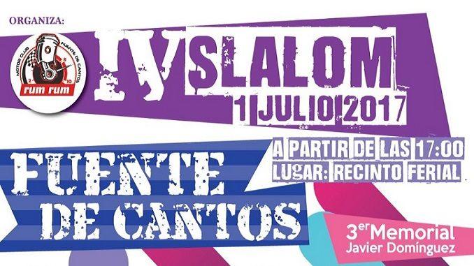 Extremadura vivirá su cuarta estación este próximo sábado 1 de julio en la localidad pacense de Fuente de Cantos. Será elIV Slalom Fuente de Cantos.