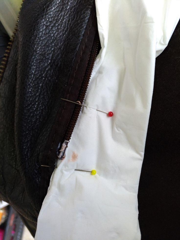 Les 89 meilleures images du tableau fermetures clairs zippers sur pinterest tuto couture - Remettre une fermeture eclair ...