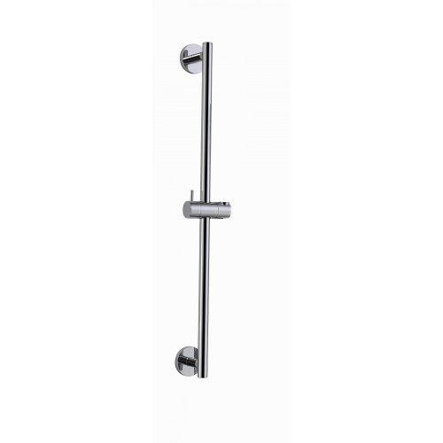 Chrome Plated Shower Riser Rail - Round - http://www.cheaptohome.co.uk/chrome-plated-shower-riser-rail-round/