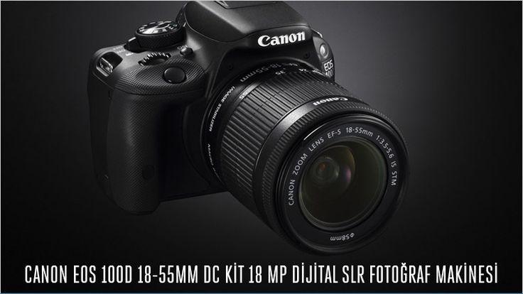 Hepsiburada güvencesiyle Canon Eos 100D 18-55mm SLR Fotoğraf makinesinde indirim fırsatı indirim ve ürün hakkında bilgi için sayfamızı ziyaret ediniz.  http://bombafirsatlar.com/hepsiburada-canon-eos-100d-indirim/