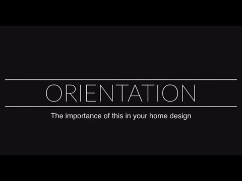 Principal architect Dion Seminara discusses the importance of having great orientation in your home design to optimise breeze and lighting.