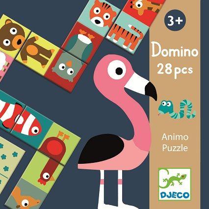 Djeco domino puzzle Animo