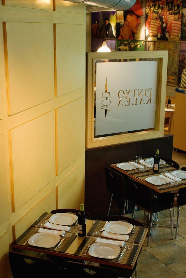 A true feel of the #basque #restaurant in a post-industrial setting.  #ideas #interior #design #industrial #identity #arredamento #ristorante #ospitalità #pincho #furniture