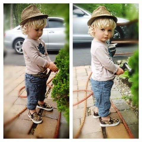 BombelStyleBlog: Little Stylish Gardner Boy