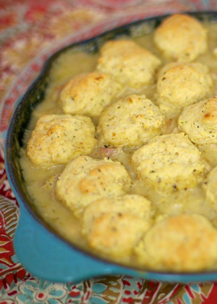 Salsa Verde Chicken & Dumplings | Plain Chicken