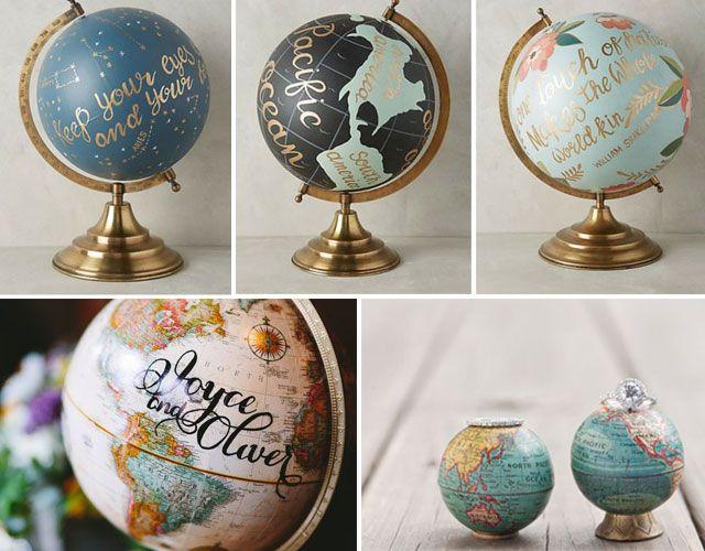 Blog de los detalles de tu boda bodas con tem tica - Bola del mundo decoracion ...